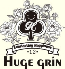 Huge grin