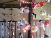 横浜根岸なつかし公園 古布縮緬で作る雛のつるし飾り