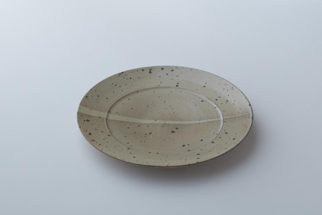 唐津粉引皿