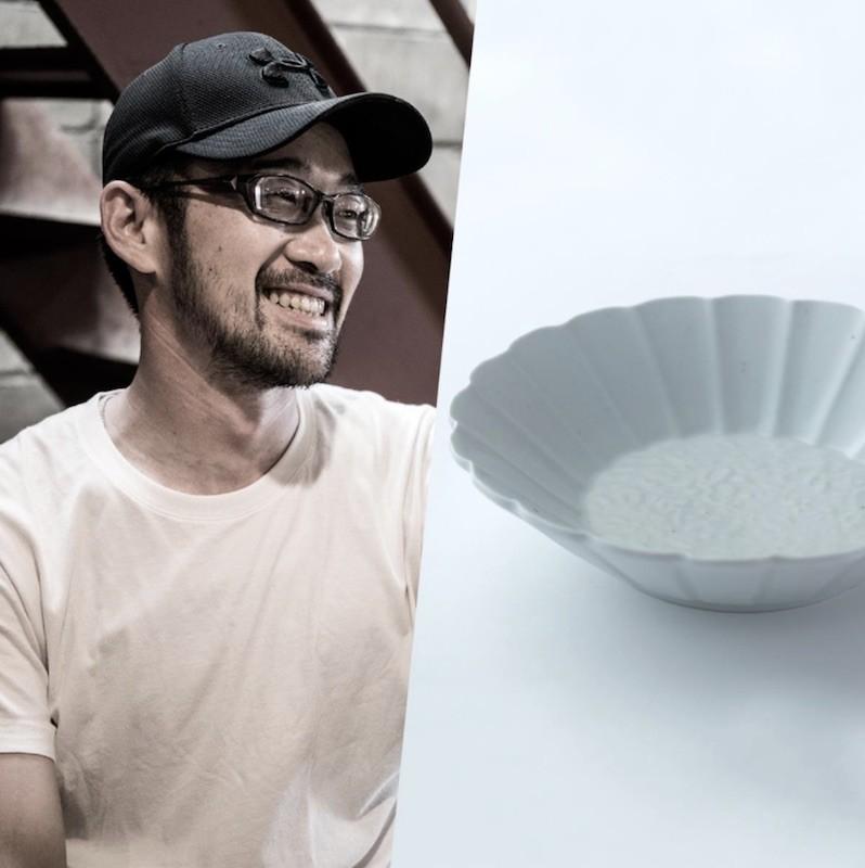 400年前の有田を蘇らせた職人、文祥窯「型打ち輪花皿」。