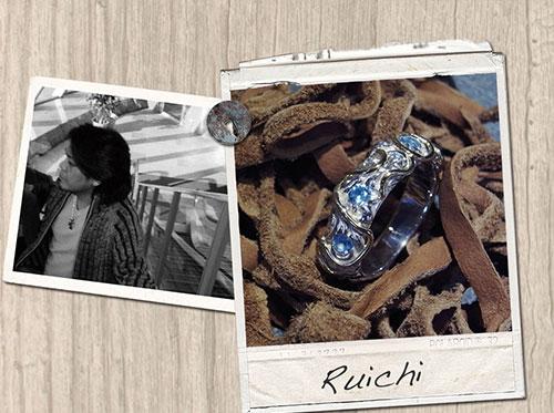 古市 豊 自然との融合をコンセプトにしたジュエリーブランド「Ruichi」。
